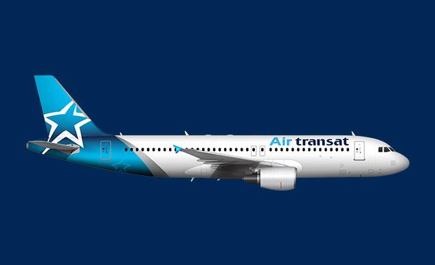 Airbus A320 200 Air Transat