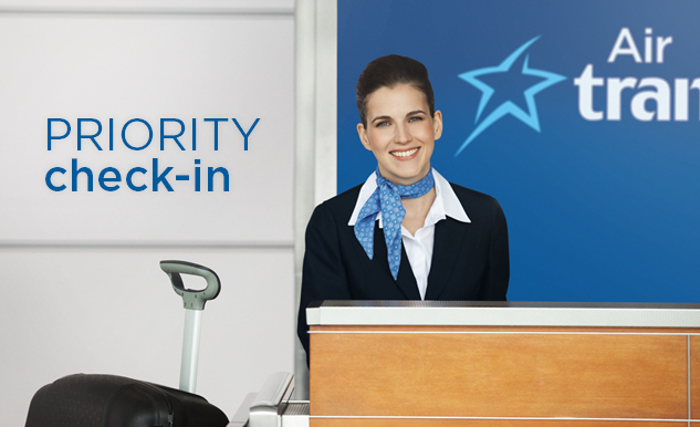 Priority check-in Option Plus Air Transat
