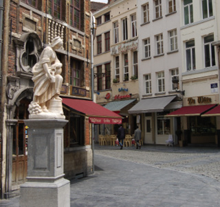Brussels-Statue